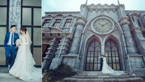 Quay phim cưới phim trường
